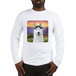 Husky Meadow Long Sleeve T-Shirt