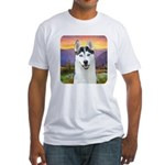 Husky Meadow Fitted T-Shirt