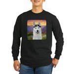 Husky Meadow Long Sleeve Dark T-Shirt