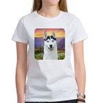 Husky Meadow Women's T-Shirt