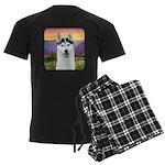 Husky Meadow Men's Dark Pajamas
