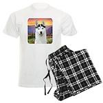 Husky Meadow Men's Light Pajamas