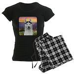 Husky Meadow Women's Dark Pajamas