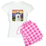Husky Meadow Women's Light Pajamas