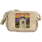 Husky Meadow Messenger Bag