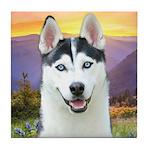 Husky Meadow Tile Coaster