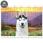 Husky Meadow Puzzle