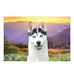 Husky Meadow Postcards (Package of 8)