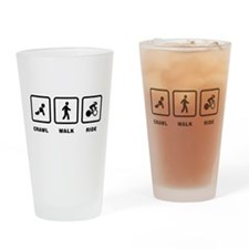 Bicycle Racing Drinking Glass