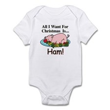 Christmas Ham Infant Bodysuit