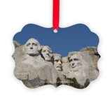 Mt Rushmore Ornament