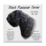 Black Russian Tile Coaster
