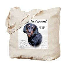 Black & Tan Tote Bag
