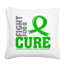 Cerebral Palsy Fight For A Cure Square Canvas Pill