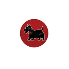 Scottish Terrier Mini Button