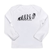Astronaut Evolution Long Sleeve Infant T-Shirt