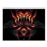 Fractal Mixture Wall Calendar