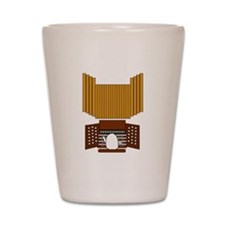 Organist Shot Glass