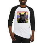 French Bulldog Meadow Baseball Jersey