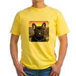 French Bulldog Meadow Yellow T-Shirt
