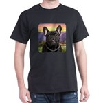 French Bulldog Meadow Dark T-Shirt