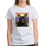French Bulldog Meadow Women's T-Shirt