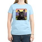 French Bulldog Meadow Women's Light T-Shirt