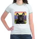 French Bulldog Meadow Jr. Ringer T-Shirt