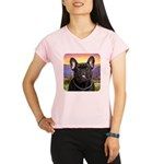French Bulldog Meadow Performance Dry T-Shirt