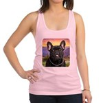 French Bulldog Meadow Racerback Tank Top
