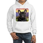 French Bulldog Meadow Hooded Sweatshirt