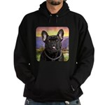 French Bulldog Meadow Hoodie (dark)
