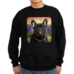 French Bulldog Meadow Sweatshirt (dark)