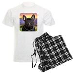 French Bulldog Meadow Men's Light Pajamas