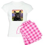 French Bulldog Meadow Women's Light Pajamas