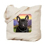 French Bulldog Meadow Tote Bag