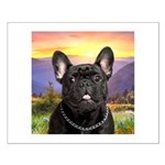 French Bulldog Meadow Small Poster