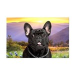 French Bulldog Meadow Mini Poster Print