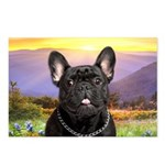 French Bulldog Meadow Postcards (Package of 8)