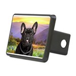 French Bulldog Meadow Rectangular Hitch Cover