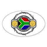South Africa Water Polo Oval Decal