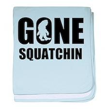 Gone sqautchin baby blanket