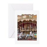 Cute Carousel horse Greeting Card