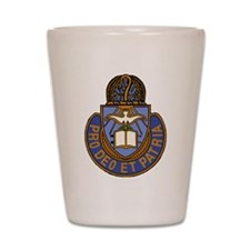 Chaplain Crest Shot Glass