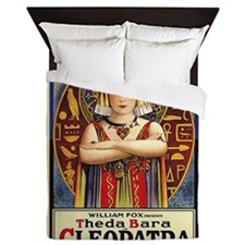 Theda Bara as Cleopatra Queen Duvet