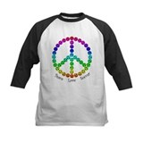 Peace.Love.Soccer Baseball Jersey