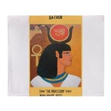 Hathor Throw Blanket