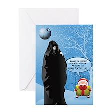 TomXmasFront Greeting Cards
