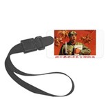 Warriors love reading Chairman Maos books Luggage Tag
