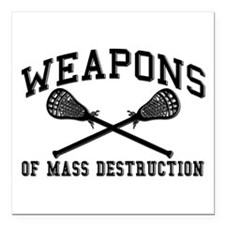 Lacrosse Weapons of Mass Destructions Square Car M